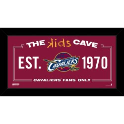 Steiner Sports - CAVAPHA006004 - Cleveland Cavaliers 6x12 Kids Cave Sign