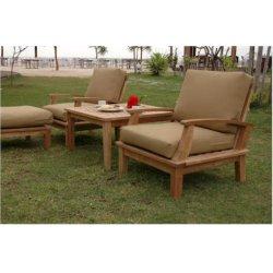 Anderson Teak - DS-101 - Brianna Deep Seating Armchair and Cushion