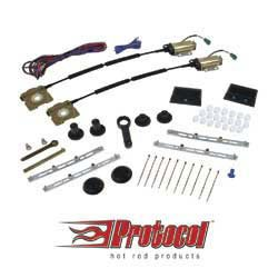 Protocol - PPPPW4 - Protocol 2 Door Basic Power Window Kit W/ Switches