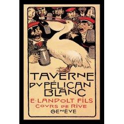 Buyenlarge - 01484-9P2030 - Taverne du Pelican Blanc 20x30 poster