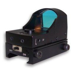 NcSTAR - DDAB - NcStar DDAB Micro Compact Tactical Multi-Mount Red Dot Reflex Sight, Black