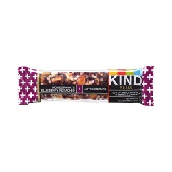 KIND - 17221 - 1.4 oz. Pomegranate Blueberry Pistachio Plus Antioxidants KIND Plus Nutrition Boost Bar; PK12