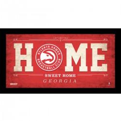 Steiner Sports - HAWKPHA010000 - Atlanta Hawks 10x20 Home Sweet Home Sign