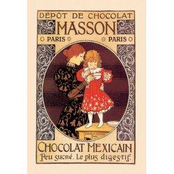 Buyenlarge - 01601-9P2030 - Depot de Chocolat Masson: Chocolat Mexicain 20x30 poster