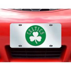 Fanmats - 15113 - NBA - Boston Celtics License Plate Inlaid 6x12