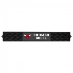 Fanmats - 14049 - NBA - Chicago Bulls Drink Mat 3.25x24