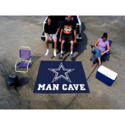 Fanmats - 14295 - Dallas Cowboys Man Cave Tailgater Rug 5x6