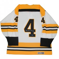 Steiner Sports - ORRBJES000008 - Bobby Orr Boston Bruins Signed White Retro CCM Jersey: GNR COA
