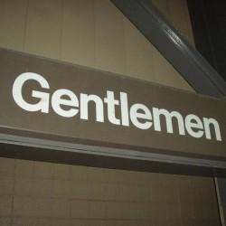 Steiner Sports - GIANSGN000288 - Gentlemen Sign From Giants Stadium 19 1/2x66 1/8