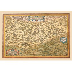 Buyenlarge - 09116-9CG12 - Map of Transylvania 12x18 Giclee on canvas