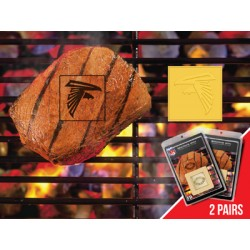 Fanmats - 13190 - NFL - Atlanta Falcons Fanbrand 2 Pack