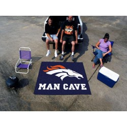 Fanmats - 14299 - Denver Broncos Man Cave Tailgater Rug 5x6