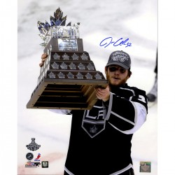 Steiner Sports - QUICPHS016008 - Jonathan Quick Signed Conn Smythe Trophy Vertical 16x20 Photo (Jonathan Quick Holo)