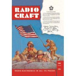 Buyenlarge - 07673-9CG28 - Radio Craft: American Soldiers Stake the Flag 28x42 Giclee on Canvas