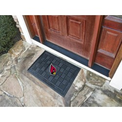 Fanmats - 11433 - NFL - Arizona Cardinals Medallion Door Mat