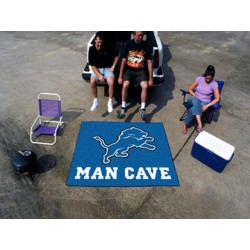 Fanmats - 14303 - Detroit Lions Man Cave Tailgater Rug 5x6