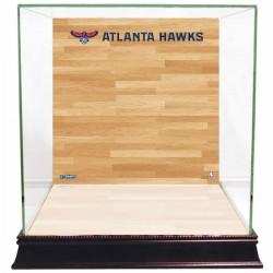 Steiner Sports - CASEBKU0000AH - Atlanta Hawks Basketball Court Background Case