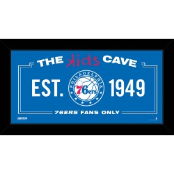 Steiner Sports - 76ERPHA006004 - Philadelphia 76ers 6x12 Kids Cave Sign
