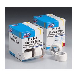 First Aid Only - H638 - 1 in. x5 yd. Non-porous cloth athletic tape roll- 10 per dispenser box