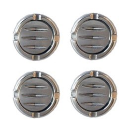 AMI - 3512C - All Sales A/C Vents - Complete Set of 4 Chrome