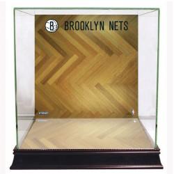 Steiner Sports - CASEBKU0000BN - Brooklyn Nets Basketball Court Background Case