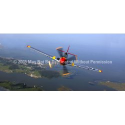 ClearVue Graphics - AVA-008-30-65 - Window Graphic - 30x65 P-51 Mustang