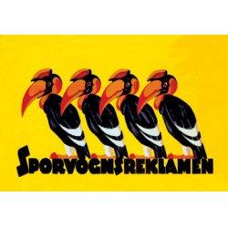 Buyenlarge - 01478-4P2030 - Sporvognsreklamen 20x30 poster