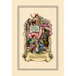 Buyenlarge - 09018-9CG12 - Little Lily's Alphabet: Admittance 12x18 Giclee on canvas