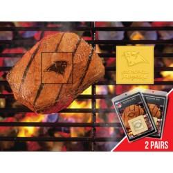 Fanmats - 13187 - Carolina Panthers Fanbrand 2 Pack
