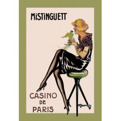 Buyenlarge - 01474-1P2030 - Mistinguett - Casino de Paris 20x30 poster