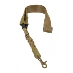 NcSTAR - AARS1PT - NcStar AARS1PT VISM Fully Adjustable Single Point Yoke Ring Bungee Sling, Tan