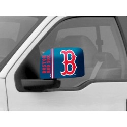 Fanmats - 13299 - Boston Red Sox Large Mirror Cover