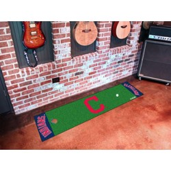 Fanmats - 16915 - Cleveland Indians Block-C Putting Green Runner