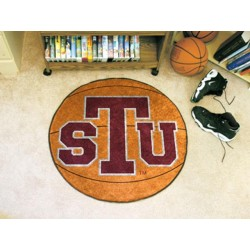 Fanmats - 1172 - Texas Southern University Basketball Mat 27 diameter