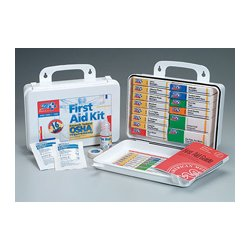 First Aid Only - 239-AN - 16 Unit- 94 piece unitized ANSI kit- plastic case w/ gasket- 1 ea.