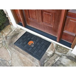 Fanmats - 11437 - Cleveland Browns Medallion Door Mat