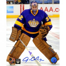Steiner Sports - QUICPHS008011 - Jonathan Quick Signed Retro Jersey 8x10 Photo (JQ Holo Only)