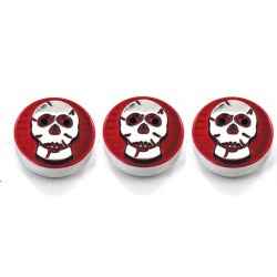 AMI - 9450SKR - All Sales Head Light Knob (1 Knob)- Skull Red