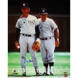 Steiner Sports - NETTPHS016032 - Graig Nettles With Yogi Berra Dual Signed Vertical 16X20 Photo (MLB Auth)