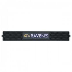 Fanmats - 13979 - Baltimore Ravens Drink Mat 3.25x24