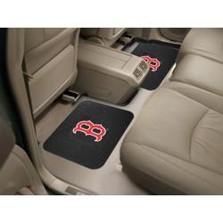 Fanmats - 12310 - Boston Red Sox Backseat Utility Mats 2 Pack 14x17
