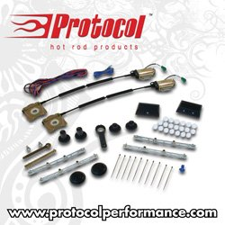 Protocol - PPPPW44 - Protocol 4 Door Power Window Kit W/ Switches
