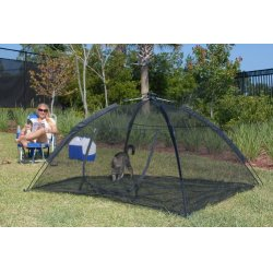 ABO Gear - 10672 - Abo 10672 Black Happy Habitat Pop Up Mesh Tent With Safety