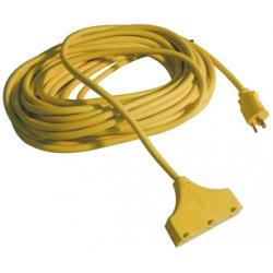 ATD Tools - ATD-8008 - 25-Ft. 3-Way Power Block Extension Cord
