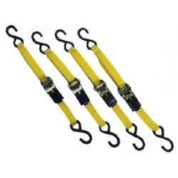 ATD Tools - ATD-8072 - 4 Piece 15 Ft. Ratcheting Tie Down Set
