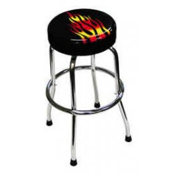 ATD Tools - ATD-81056 - Shop Stool with Flame Design