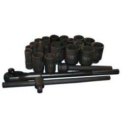ATD Tools - ATD-6405 - 22 Piece 3/4-Inch Drive SAE Deep Impact Socket Set