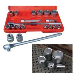 ATD Tools - ATD-10021 - 21-Piece 3/4-Inch Drive 6 Point SAE Socket Set