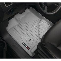 WeatherTech - 46168-1-2 - 2007 - 2011 Nissan Versa Grey 1st & 2nd Row FloorLiner