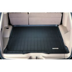 WeatherTech - 40430 - 2009 - 2012 BMW 7-Series (F01/F02) Black Cargo Liner